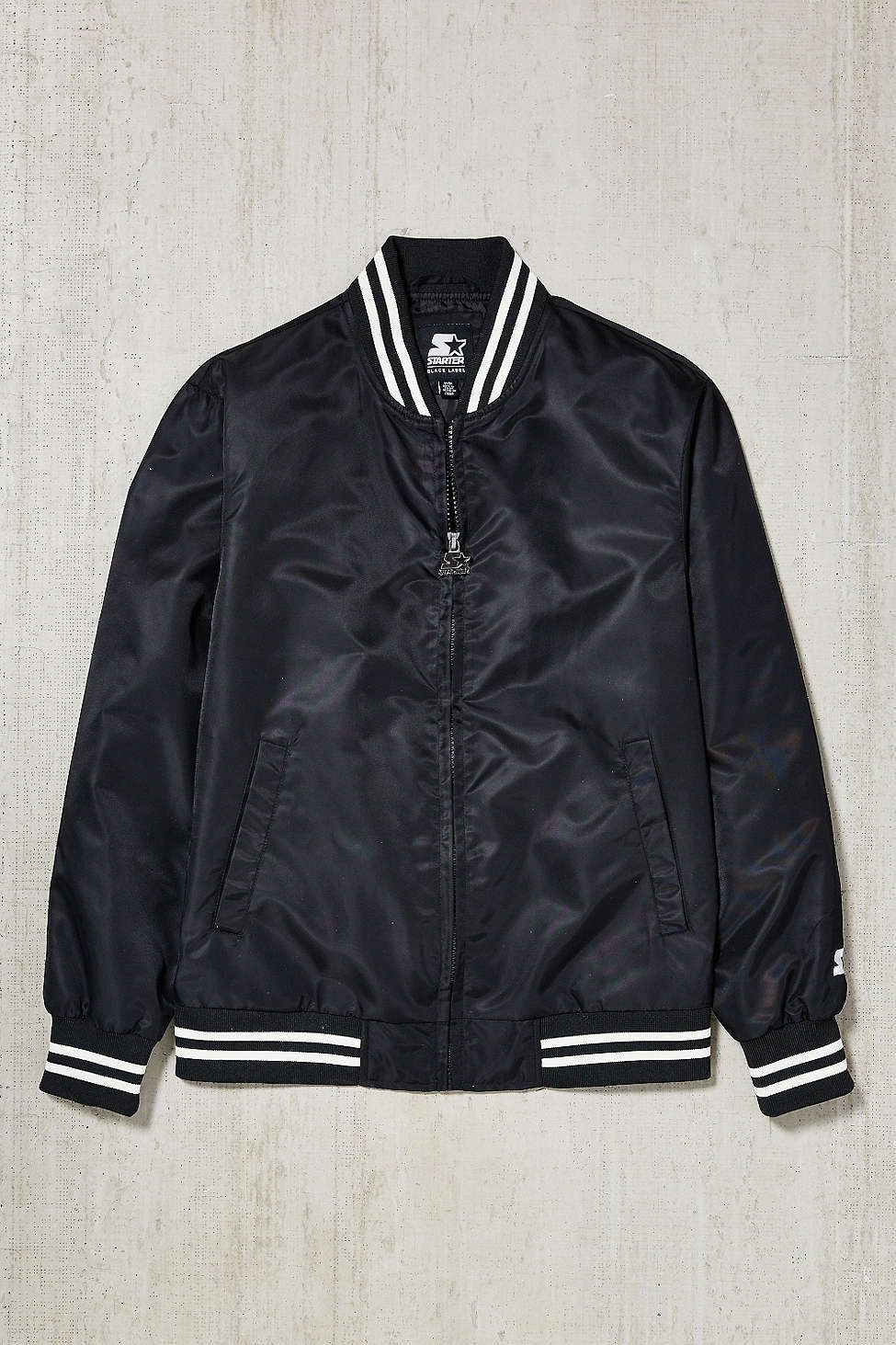 It is a graphic of Nifty Starter Black Label Jacket Urban Outfitters