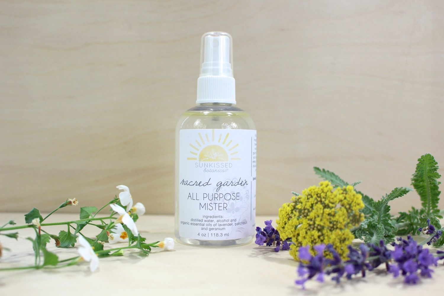 Sacred Garden All Purpose Mister Natural Hand Sanitizer