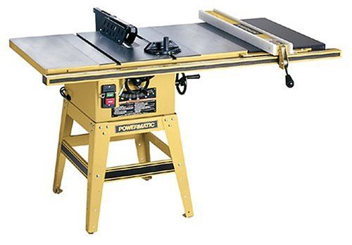 Powermatic 1791227k Model 64 Artisan 10 Inch Left Tilt 1 1 2 Horsepower Contractor Saw With 30 Inch Accu Fence A Table Saw Woodworking Table Saw Best Table Saw