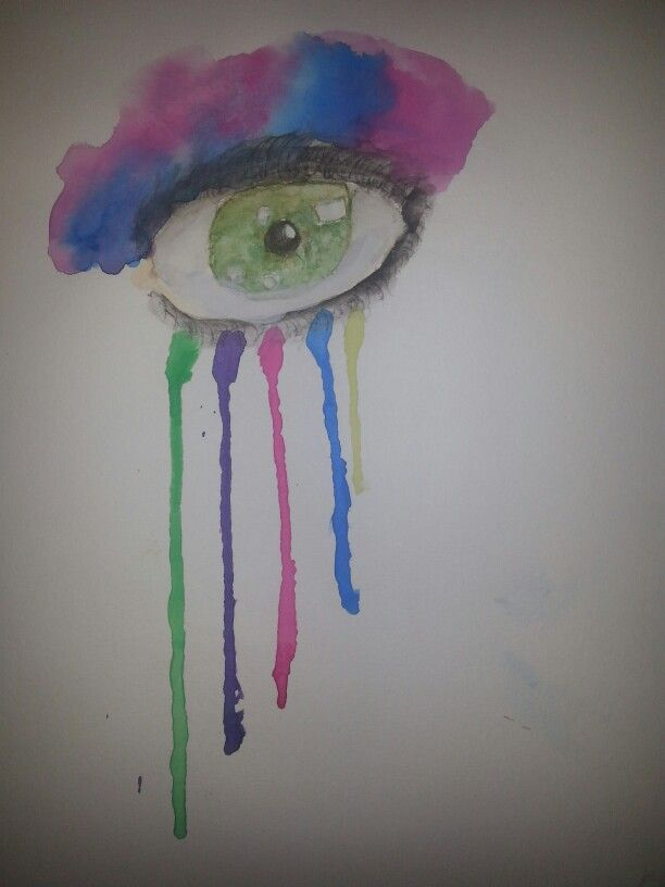 Just some watercolor<<MEGAN THAT IS AWESOME DONE BY @megan767676