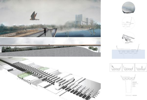 Enhancing the Urban Water Experience, Thesis Research Option Studio project by Nora Barbu, recent Master of Architecture graduate from the Daniels Faculty, University of Toronto, Winter 2013.