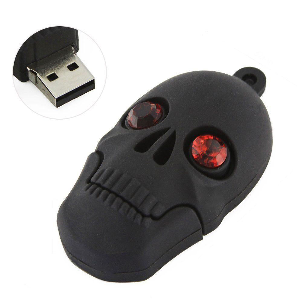 Chuyi high speed novelty skull shape 64gb usb