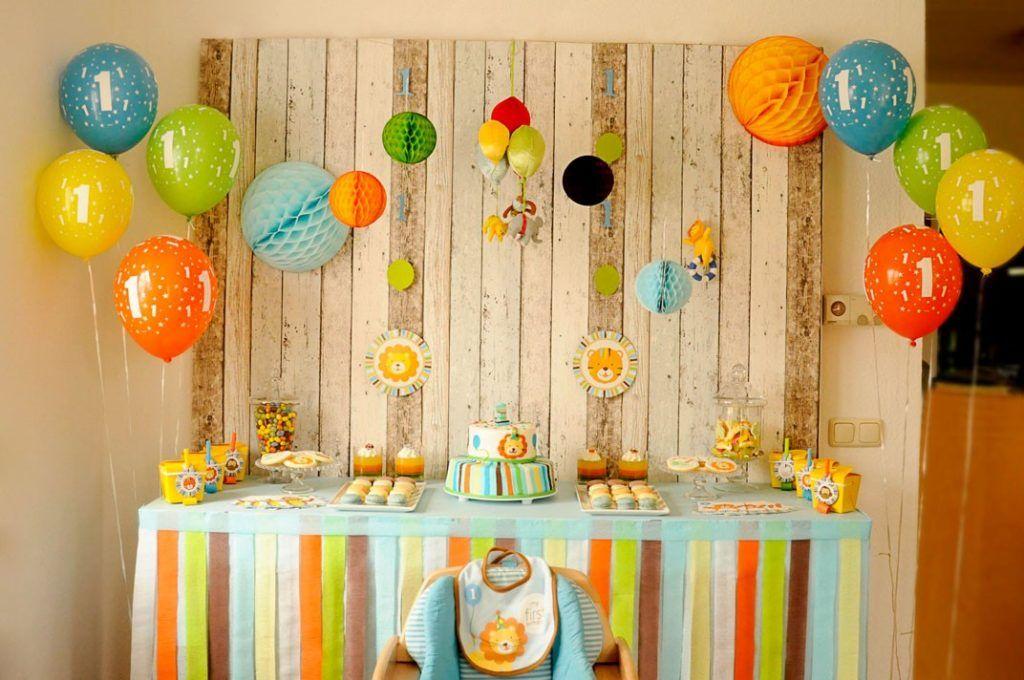2 Dekorasi Ulang Tahun Anak Di Rumah Sederhana party Pinterest