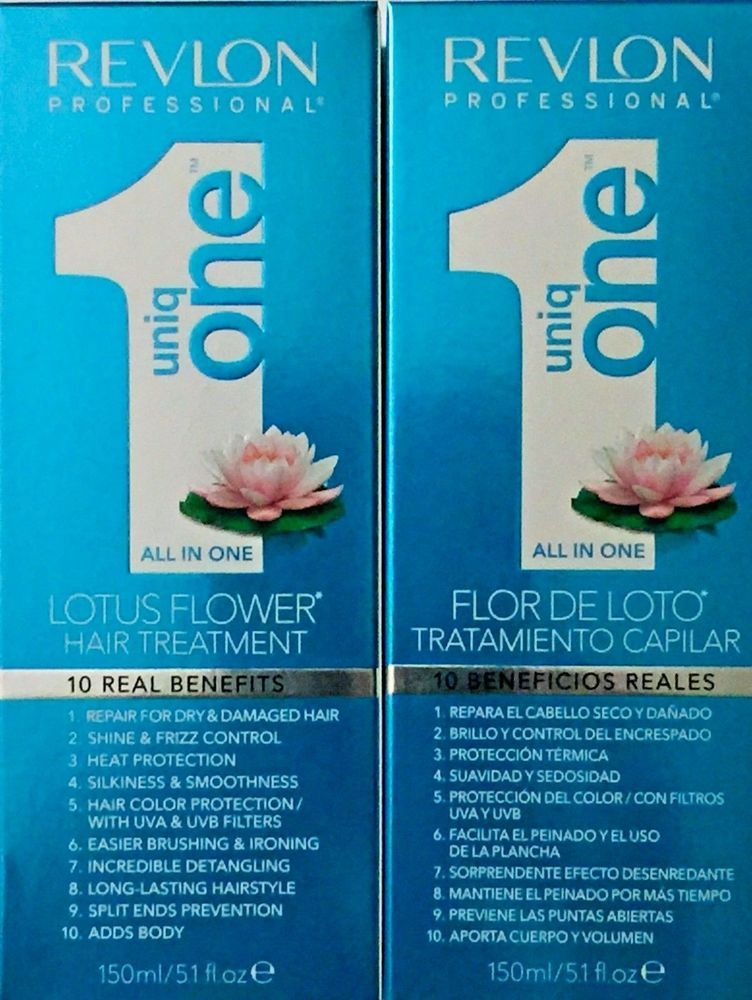 Details About Revlon Pro Uniq One Lotus Flower All In 1 Hair