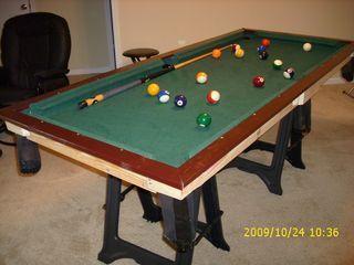 Small Pool Table Small Pool Table Diy Pool Table Pool Table
