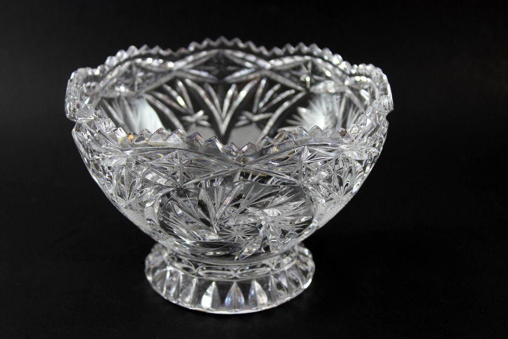 Pinwheel Crystal Medium Bowl With Base Pinterest Bowls And