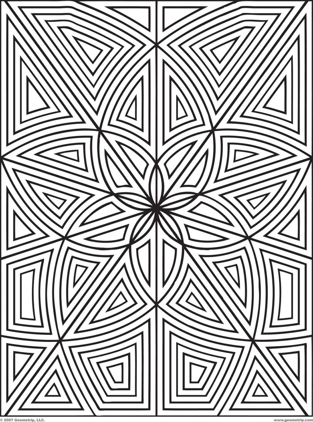 Pin By Jenny Mcnamara On Coloring Pages Geometric Coloring Pages Pattern Coloring Pages Mandala Coloring Pages