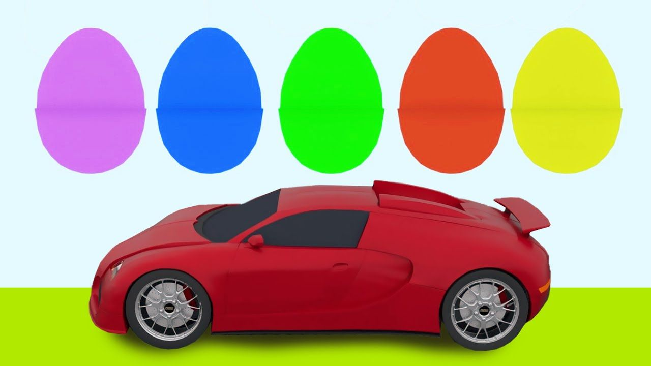 3d Animated Video For Kids - Learn Car Parts and Colors #Animation ...