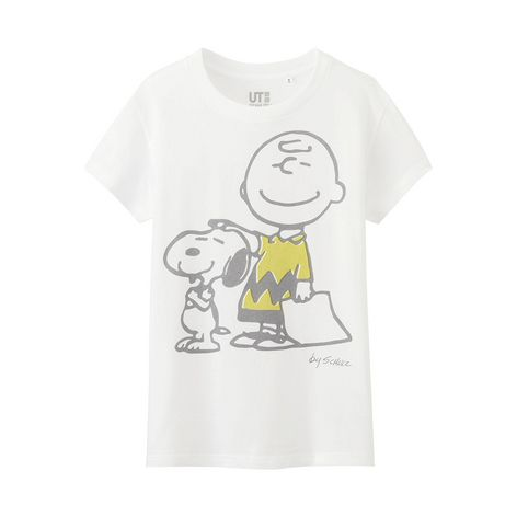 fa7a03db25eb5 WOMEN Peanuts Short Sleeve Graphic T-Shirt - UNIQLO UK Online fashion store