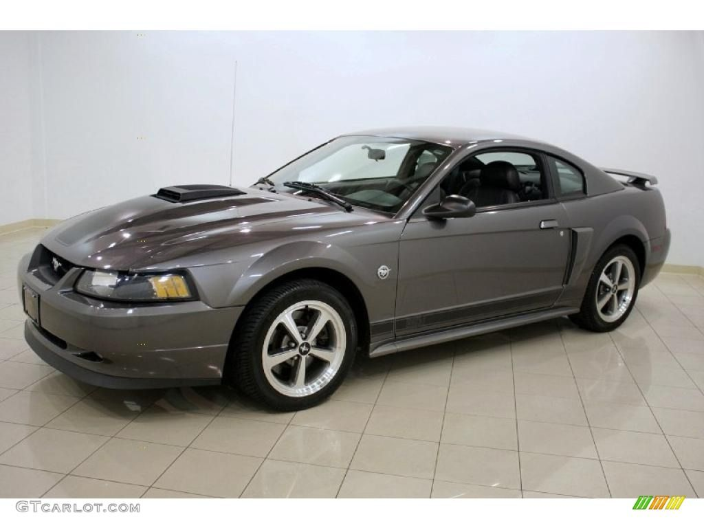 2004 Dark Shadow Grey Metallic Ford Mustang Mach 1 Coupe 28937145 Photo 3 Gtcarlot Com Car Color Galleries Mustang Mustang Mach 1 Mustang Cobra