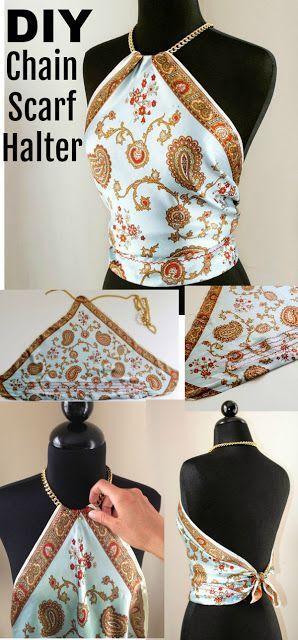 Einfache und stilvolle handgemachte DIY Kleidungsmodelle