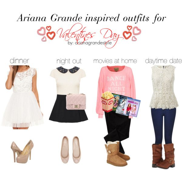 Ariana Grande Inspired Valentines Day Outfits by arianagrandestyle (dresslikearianaa on polyvore)
