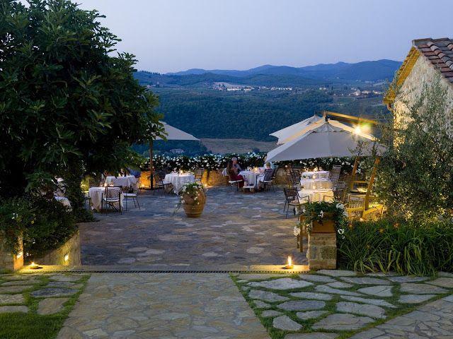 Hotel Le Fontanelle 5 Star In Chianti Terrazza Belvedere