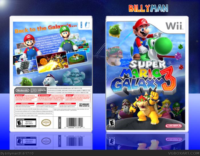 Super Mario Galaxy 3 | Video Game Stuff | Super mario, Mario