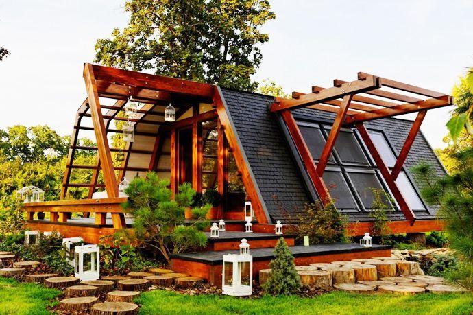 Soleta ZeroEnergy One : Eco Homes Prototypes by FITS, Bucharest, Romania