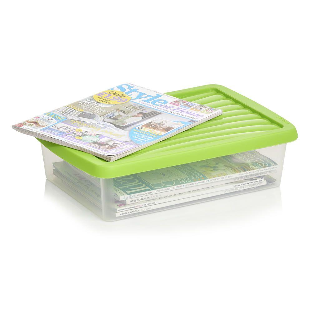 Wilko Storage Box with Lid Assorted 8L  sc 1 st  Pinterest & Wilko Storage Box with Lid Assorted 8L   Wish List   Pinterest ...