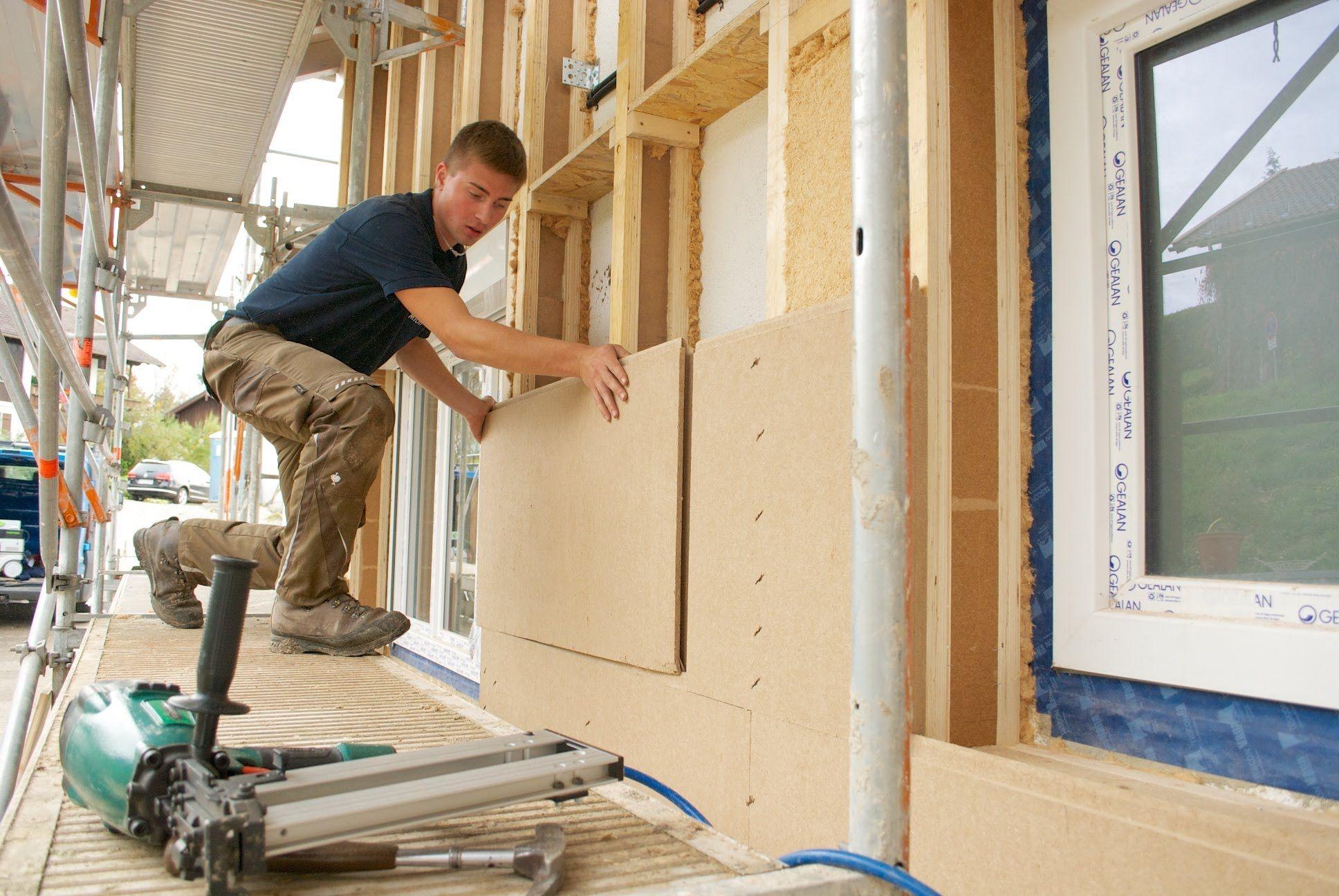 Isolation Mur Exterieur Renovation rénovation de façade par l'extérieur avec la gamme steico