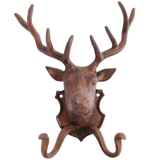 Cast Iron Stag Hook - £17.50 from Jolly Molly