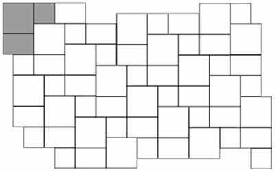 StoneTile Laying Pattern 3 Tile Herringbone | Slate Bathroom ...