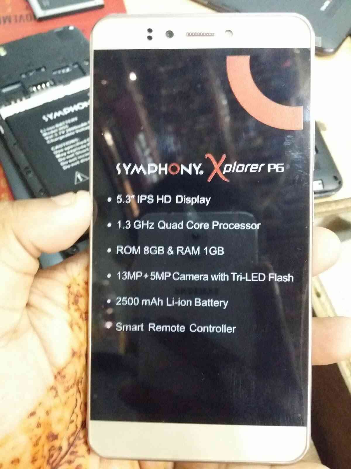 Symphony Xplorer P6 Official Firmware Flash File NEW VERSION