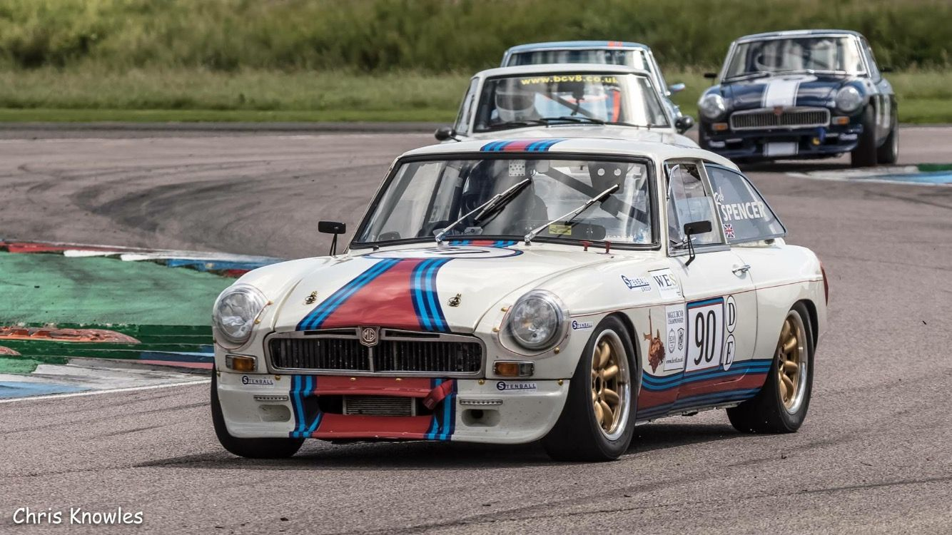 MGB GT racing | MGB GT | Pinterest | Cars