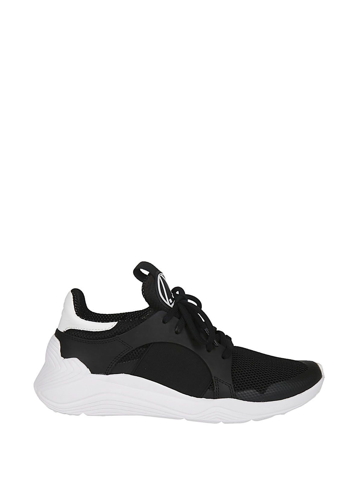 Raf Simons Black Gishiki High-Top Sneakers WrKe3V