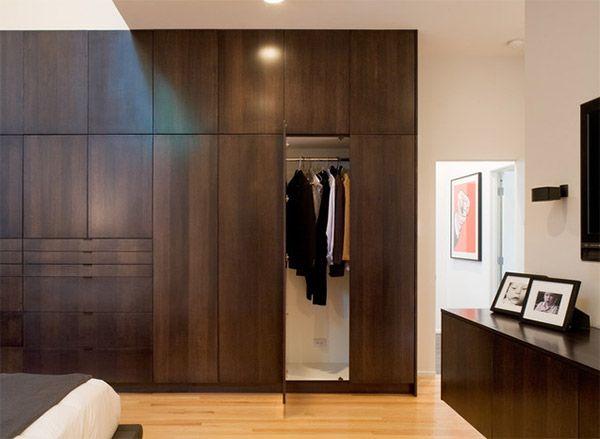Nice Design 35 Wooden Bedroom Wardrobe Designs