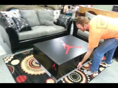 Build a giant shoe box! Nike Air Jordan - YouTube