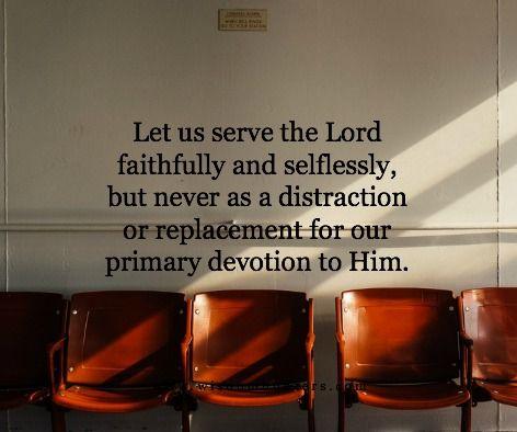 Undistracted Devotion