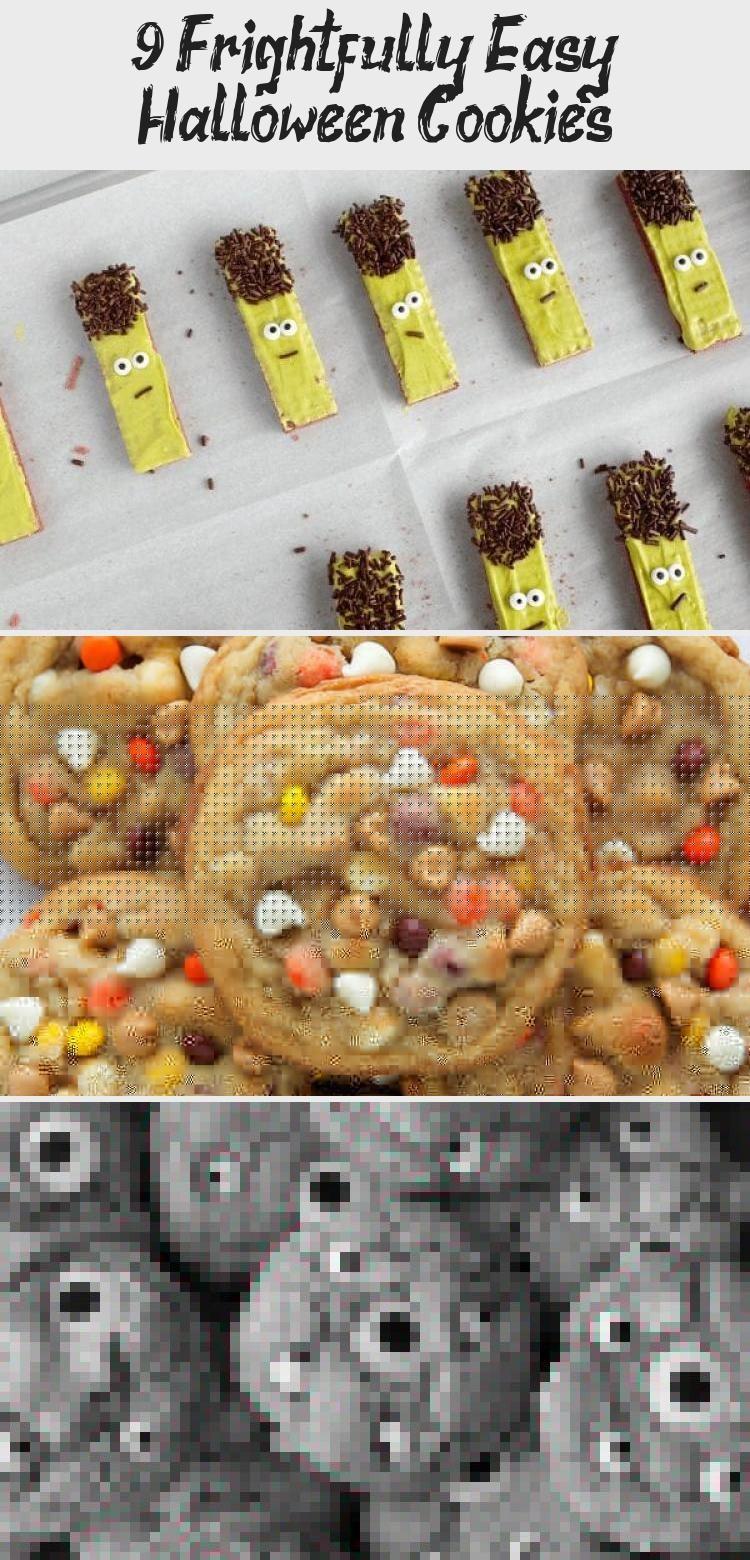 9 Frightfully Easy Halloween Cookies 9 Frightfully Easy Halloween Cookies