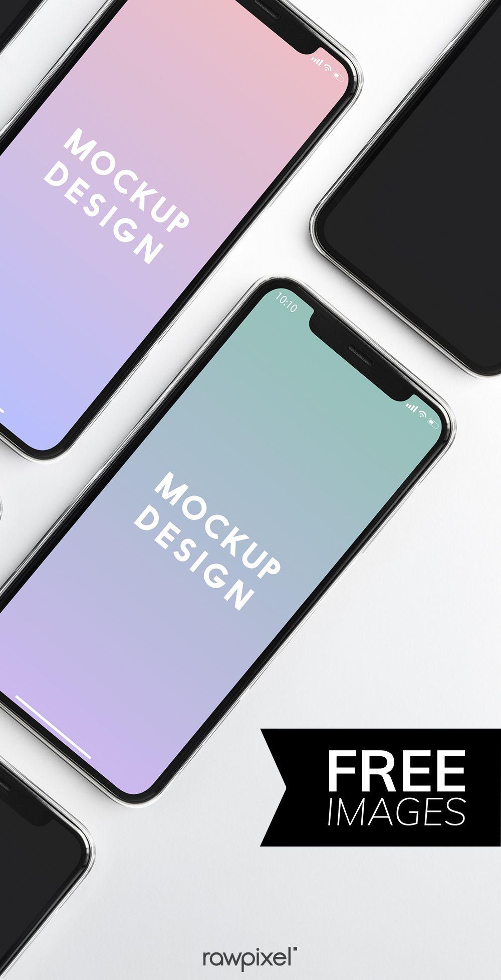Download Download Premium Psd Of Premium Mobile Phone Screen Mockup Template 527608 Web Design Quotes Phone Mockup Free Mobile Phone