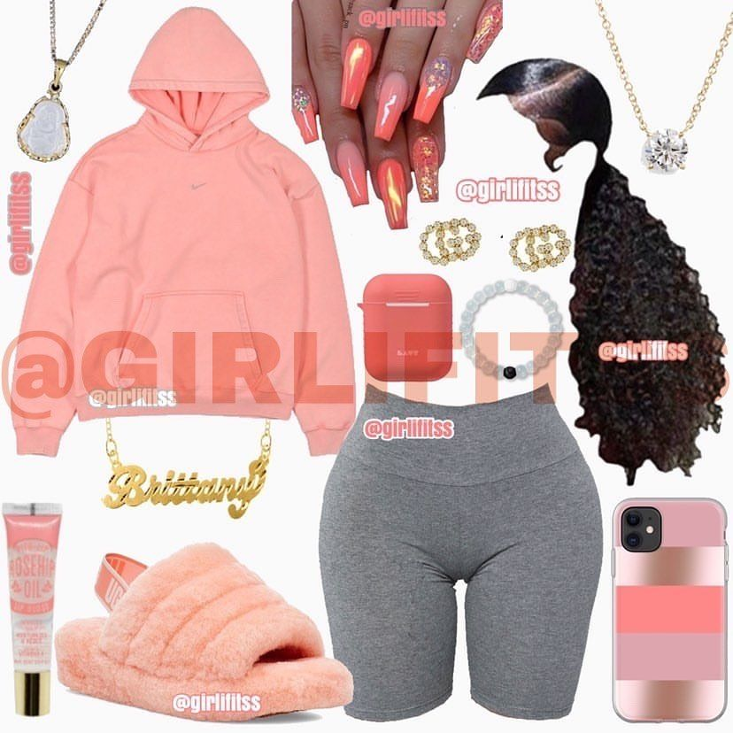 "gιяℓιιғιтss ♛ ᗪᗰ ᖴOᖇ ᔕᖴᔕ on Instagram: ""*requested shoes* Hey girlies � Put some outfit requests � Rate this fit 1-10� do you guys think this outfit is cute? �� would you wear…"""