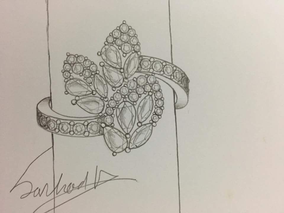 Line Drawing Diamond : Pin by doreen tan on jewelry drawings pinterest jewellery
