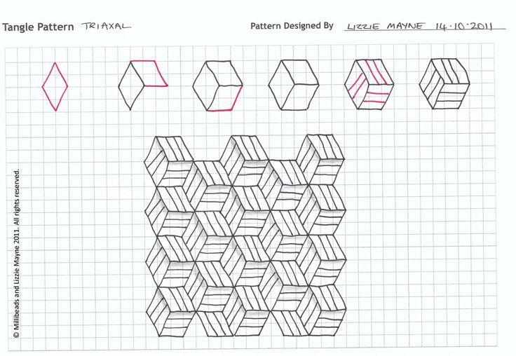 Картинки для срисовки объемные по клеточкам