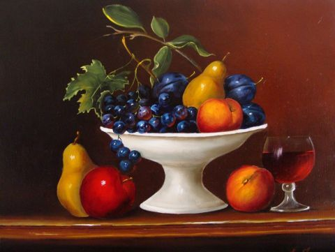 Peinture nature morte celebre recherche google food in art - Dessin de nature morte ...