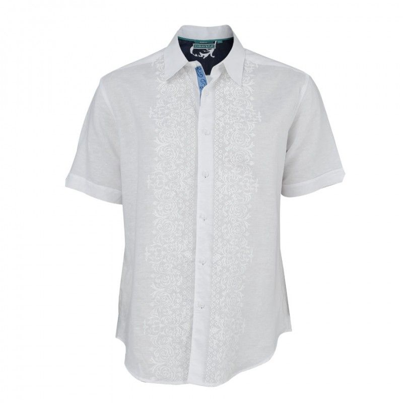 Guayabera Blanca - CUBAVERA En que playa del mundo te gustaría ponerte esta  camisa? #