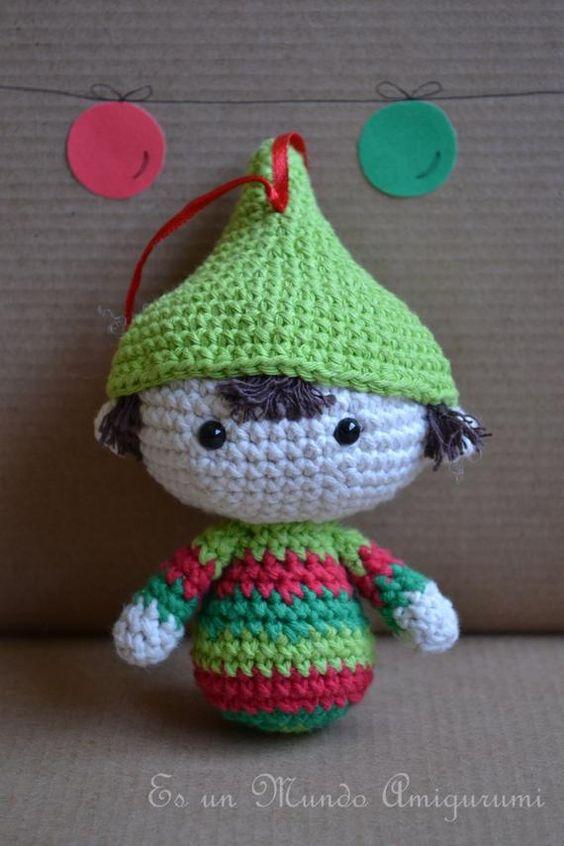 Adornos navideños crochet: amigurumis y patrones » Hilos & Hilanderas | 846x564