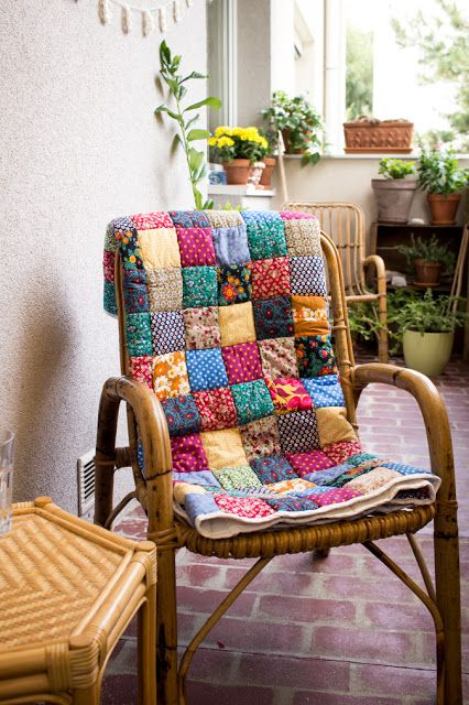 hippie flair balkon umstyling boho bohemian small balcony diy do it yourself
