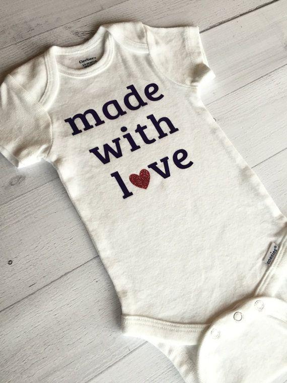96005f9af Made With Love Bodysuit