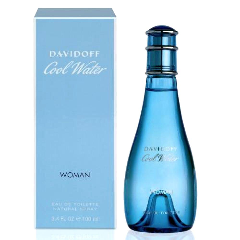 Perfume For Women Davidoff Cool Water Fragrance Edt 3 4 Oz Size Spray Bottle Nib Davidoff Custom Eau De Toilette Fragrance Spray Bottle