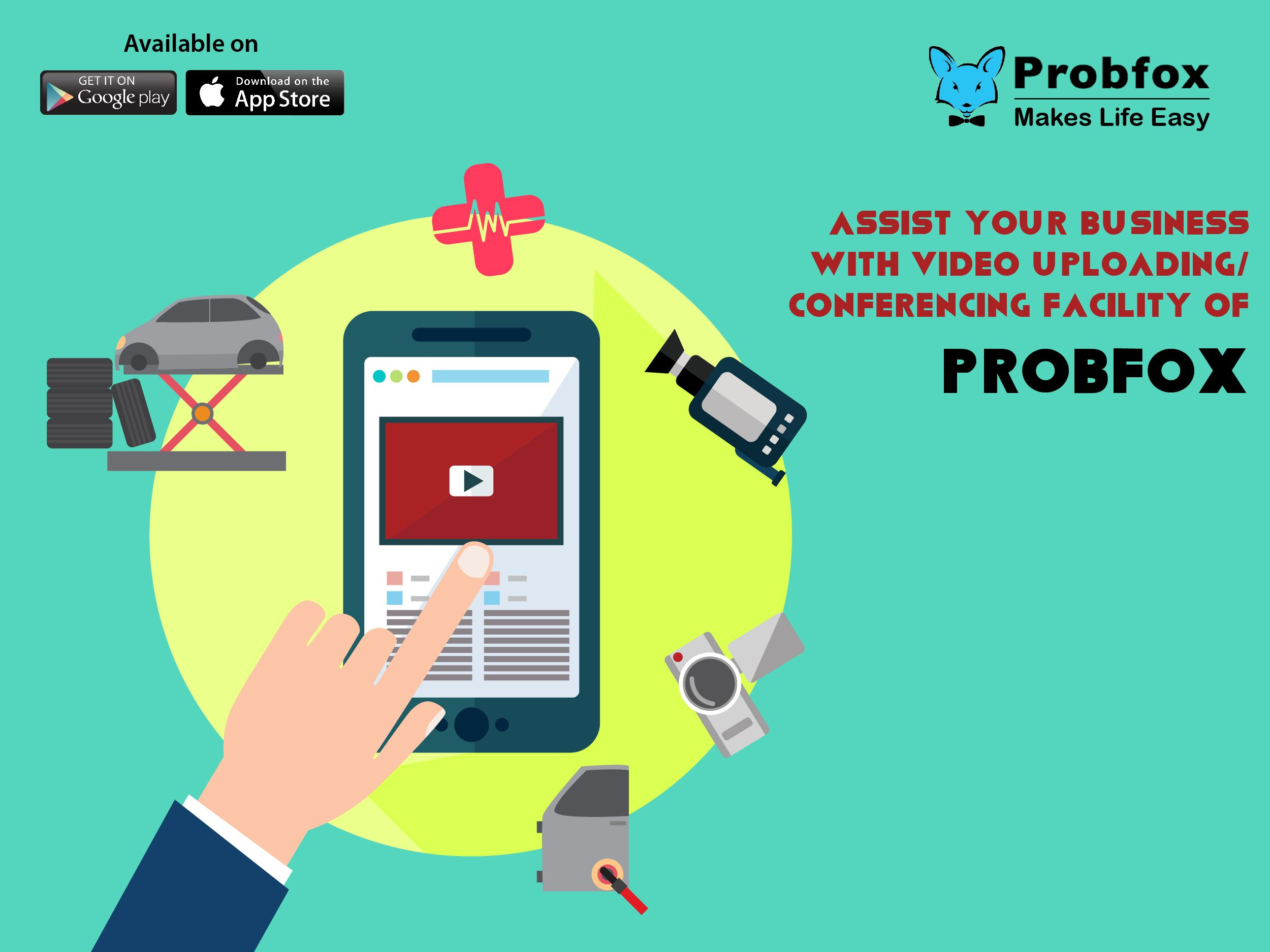 Video Uploading/Conferencing facility of Probfox is an ideal feature ...