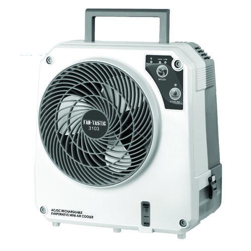 FanTastic Rechargeable 12 Volt Evaporative Cooler IceOCube