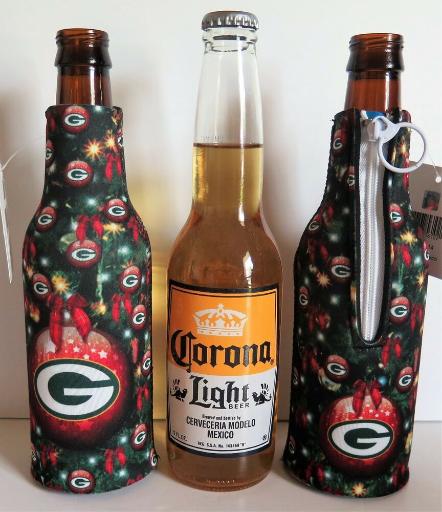 Four 4 Green Bay Packers Special Christmas Design Bottle Suits From Kolder Kolderinc Greenbaypackers Green Bay Packers Green Bay Packers Helmet Green Bay