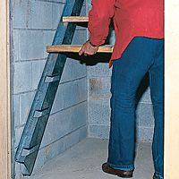 Best Stair Stringers For Basement Areaway With Images 400 x 300