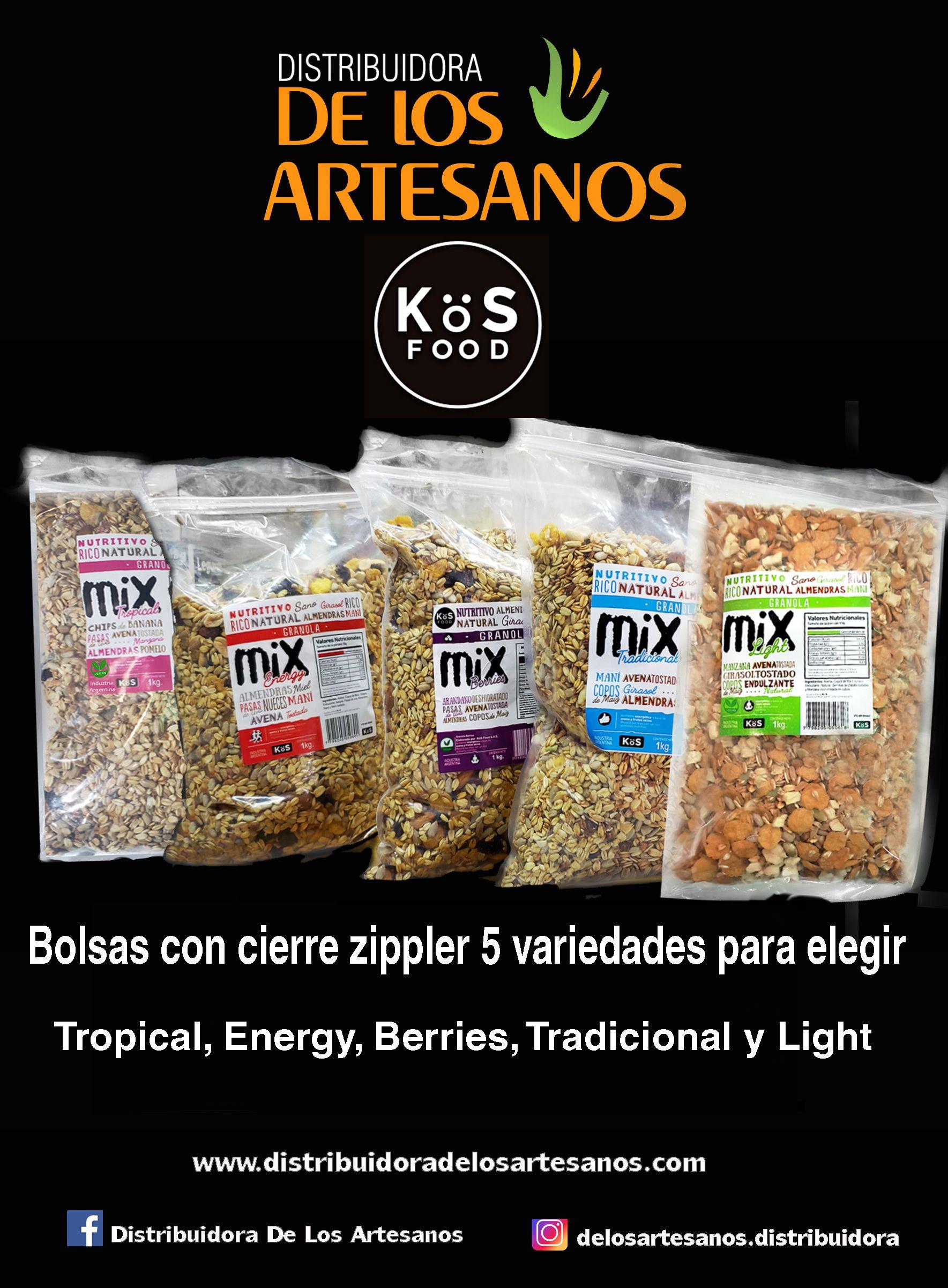 Kös Food Granolas Y Semillas Distribuidora De Los Artesanos Envíos Artesanos Tienda Natural Panaderías