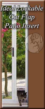 The Ideal Lockable Cat Flap Patio Pet Door Insert Features Single Pane Glass An Aluminum Frame With The Ideal Lockable Cat Fl Pet Patio Door Cat Flap Pet Door