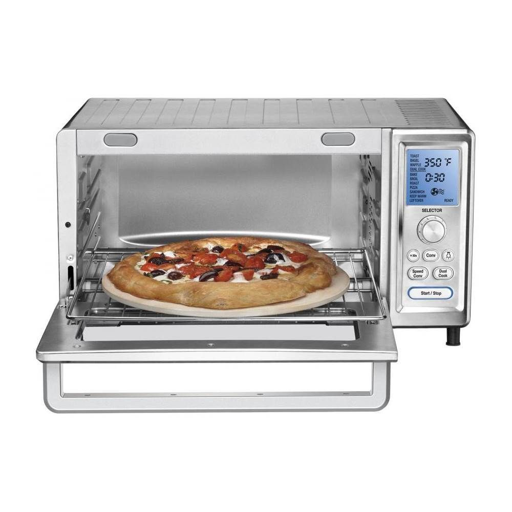Cuisinart Chef S Convection Toaster Pizza Oven Stainless Steel Tob 260n1 Convection Toaster Oven Toaster Oven Reviews Toaster