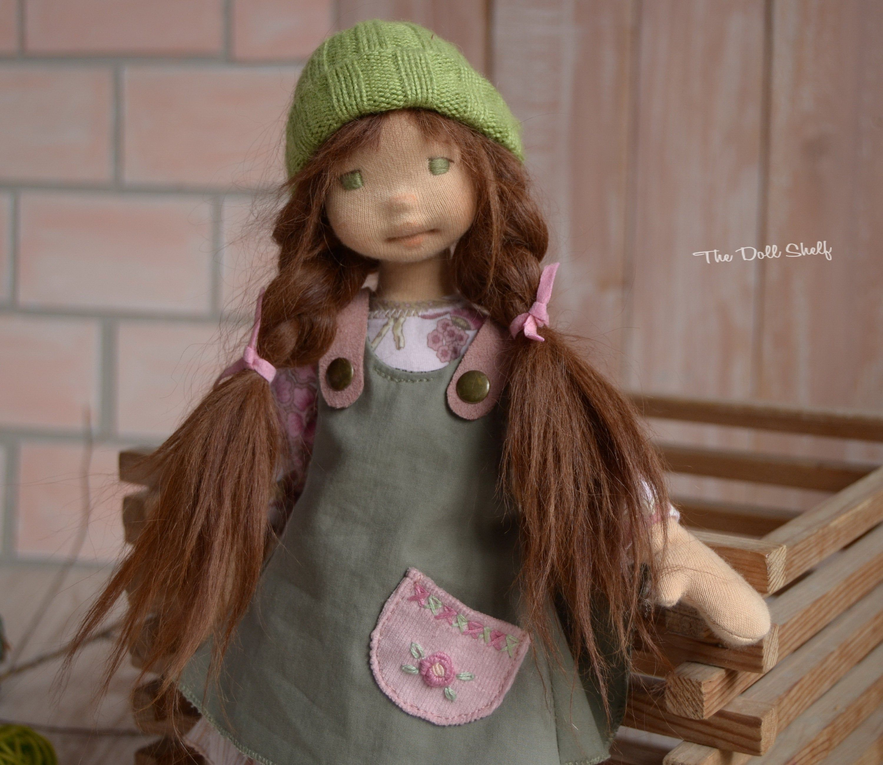 Waldorf Doll 13 Inch 33 Cm Zoe With Partial Wire Armature