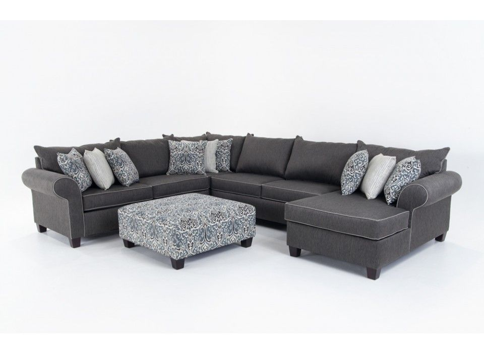 Best Ashton 5 Piece Left Arm Facing Sectional Living Room 640 x 480