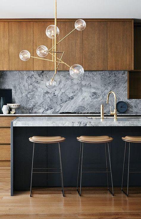 Usa Contemporary Home Decor And Mid Century Modern Lighting Ideas From Delightfull Http Www Delig Deko Tisch Moderne Kuchen Beleuchtung Moderne Kuchenideen